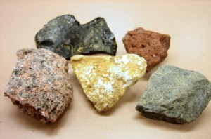 Examples of igneous rocks