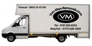 Man With A Van Edinburgh For House Removals