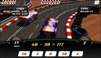 car math games